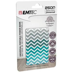 Acumulator extern Emtec Power Essentials Vintage 2 Uni 2500 mAh