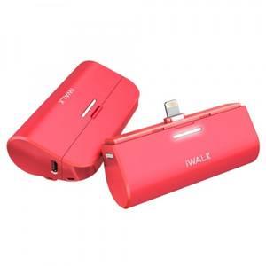 Acumulator extern andocabil iWalk Link Me 3000 mAh Apple Pink