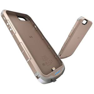 Husa cu incarcare iWalk Chameleon Immortal i6 Gold 2400 mAh pentru Apple iPhone 6