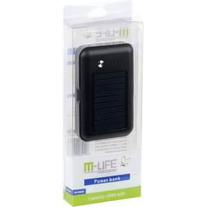 Acumulator extern M-Life ML0686 6000 mAh 2x USB Black