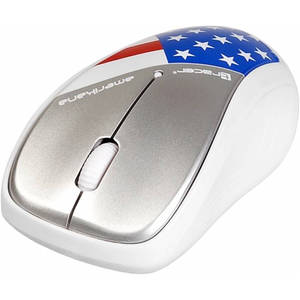 Mouse Tracer Amerikana Wireless White