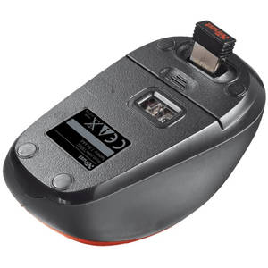 Mouse Trust YVI Wireless Red
