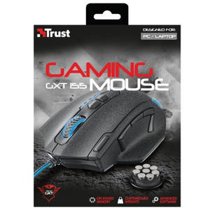 Mouse gaming Trust GXT 155 Black