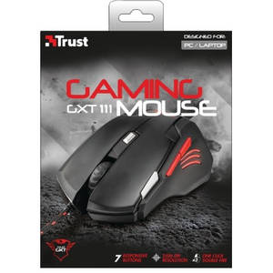 Mouse gaming Trust GXT 111 Black