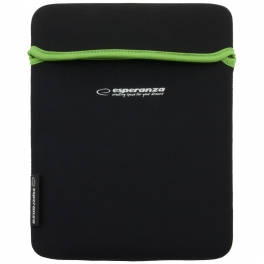 Husa tableta Esperanza ET173B Black Green pentru tablete 10.1 inch