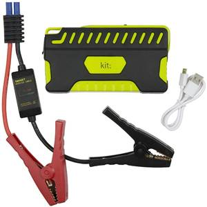 Acumulator extern Kit Car Jump Starter 12000 mAh Black