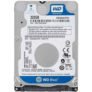 Hard disk laptop Western Digital Blue 320GB SATA-III 2.5 inch 5400rpm 8MB