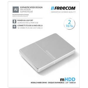 Hard disk extern Freecom Mobile Drive Metal 2TB USB 3.0