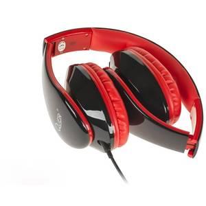 Casti Quer KOM0755 Black / Red