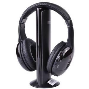 Casti Intex Wireless Roaming 5 in 1 Black