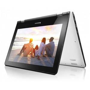 Laptop Lenovo IdeaPad Yoga 300-11 11.6 inch Full HD Touch Intel Celeron N3060 4GB DDR3 500GB HDD Windows 10 White