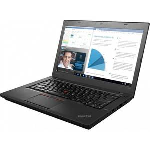 Laptop Lenovo ThinkPad T460 14 inch Full HD Intel Core i5-6200U 8GB DDR3 512GB SSD FPR Windows 7 Pro upgrade Windows 10 Pro Black
