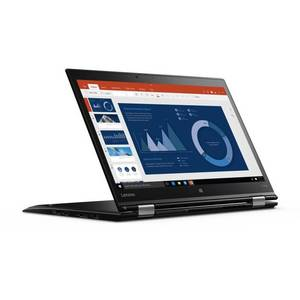 Laptop Lenovo ThinkPad X1 Yoga 1st gen 14 inch Full HD Touch Intel Core i5-6200U 8GB DDR3 256GB SSD FPR Windows 10 Pro Black