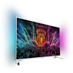Televizor Philips LED Smart TV 49 PUS6501/12 4K Ultra HD 124cm Silver