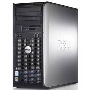 Desktop PC refurbished Dell OptiPlex 360 Core 2 Duo E8500 3.16GHz 4GB DDR2 250GB HDD Sata RW Tower Soft Preinstalat Windows 7 Home