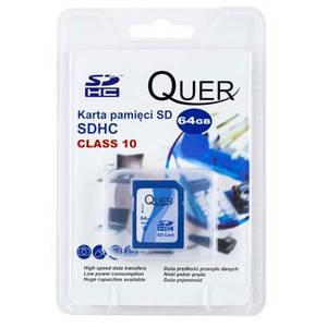 Card Quer SDHC 64GB Clasa 10