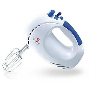Mixer Alpina SF 3911 200W 5 viteze + PULS 2 Litri Alb/Albastru
