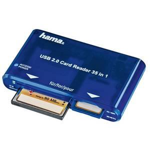 Card reader Hama 35 in 1 Blue