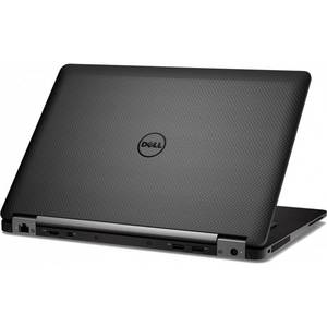 Laptop Dell Latitude E7470 14 inch Full HD Intel Core i5-6300U 8GB DDR4 512GB SSD FPR Windows 7 Pro upgrade Windows 10 Pro Black