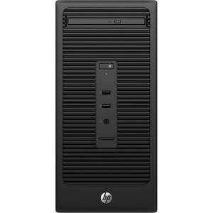 Sistem desktop HP 280 G2 MT Intel Core i5-6500 4GB DDR4 500GB HDD Windows 10 Pro Black