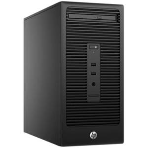 Sistem desktop HP 280 G2 MT Intel Pentium G4400 4GB DDR4 500GB HDD Windows 10 Pro Black
