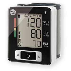 Tensiometru de incheietura Daga FH-BPM 150 Bluetooth LCD Alb/Negru