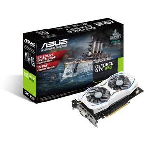 Placa video Asus nVidia GeForce GTX 950 2GB DDR5 128bit HDMI