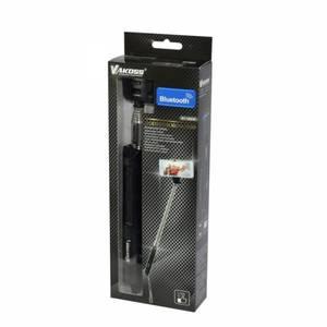 Selfie Stick Vakoss ST-1653K Bluetooth cu zoom negru