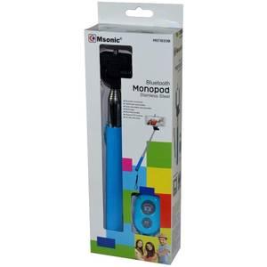 Selfie Stick Vakoss Msonic MST1633B Bluetooth cu telecomanda albastru