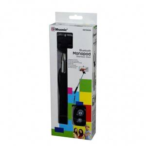 Selfie Stick Vakoss Msonic MST1633K Bluetooth cu telecomanda negru