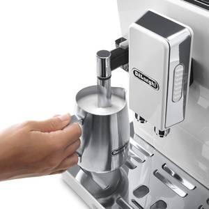 Espressor cafea Delonghi ECAM 45.760.W 1450W 15 bari Argintiu