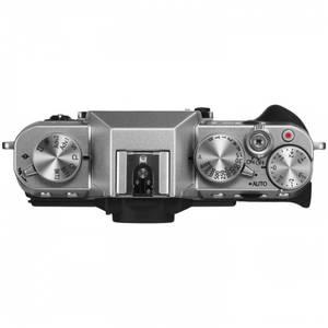 Aparat foto Mirrorless Fujifilm X-T10 16.3 Mpx Silver Kit XC 16-50mm si 50-230mm