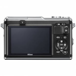 Aparat foto Mirrorless Nikon 1 AW1 14.2 Mpx Silver Kit 11-27.5mm