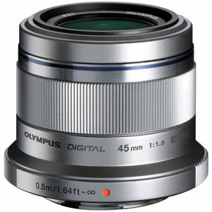 Aparat foto Mirrorless Olympus E-PL7 16 Mpx White Kit 45mm f/1.8