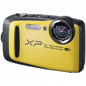 Aparat foto compact Fujifilm Finepix XP90 16 Mpx zoom optic 5x WiFi subacvatic Yellow