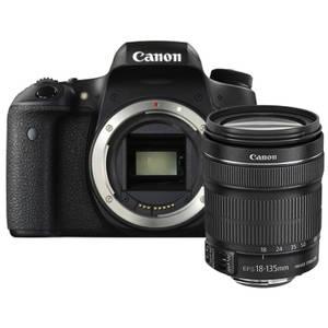 Aparat foto DSLR Canon EOS 760D 24.2 Mpx Kit EF-S 18-135 IS STM