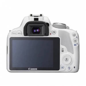 Aparat foto DSLR Canon EOS 100D 18.5 White Kit EF-S 18-55mm f/3.5-5.6 IS STM