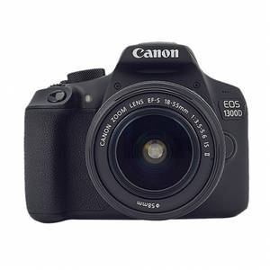 Aparat foto DSLR Canon EOS 1300D 18.7 Mpx Kit EF-S 18-55mm IS II f/3.5-5.6