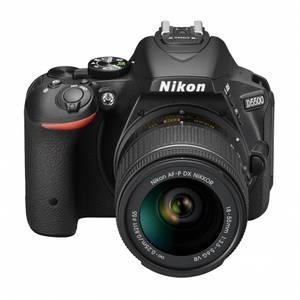 Aparat foto DSLR Nikon D5500 24.2 Mpx Kit AF-P 18-55mm VR