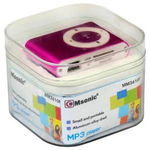 MP3 player Vakoss Msonic MM3610P miniUSB Aluminiu Pink