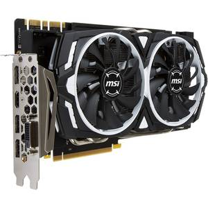 Placa video MSI nVidia GeForce GTX 1070 Armor OC 8GB DDR5 256bit