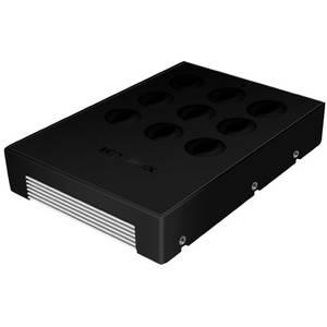 Rack HDD RaidSonic Convertor Icy Box 3.5 inch pentru HDD 2.5 inch SATA negru + aluminiu