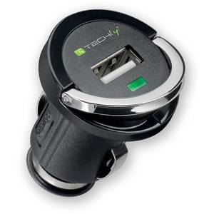 Incarcator auto TECHLY 300637 USB 5V 1.2A Black