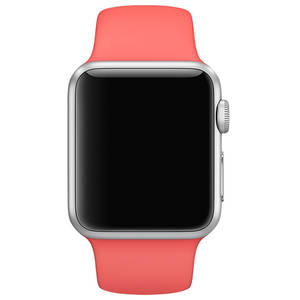 Curea smartwatch Apple Watch 38mm Pink Sport Band