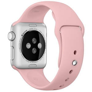 Curea smartwatch Apple Watch 38mm Vintage Rose Sport Band