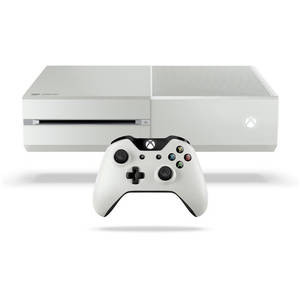 Consola Microsoft Xbox One 500GB White cu joc Quantum Break  si Alan Wake