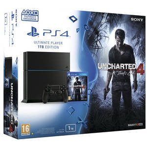 Consola Sony PlayStation 4 Ultimate Player Edition 1TB cu joc Uncharted 4