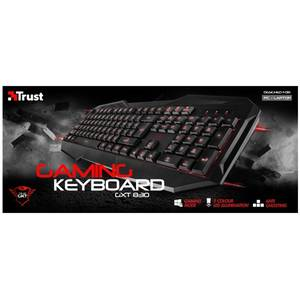 Tastatura gaming Trust GXT 830 Black