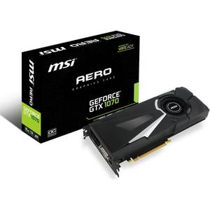 Placa video MSI nVidia GeForce GTX 1070 Aero OC 8GB DDR5 256bit