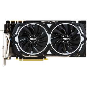 Placa video MSI nVidia GeForce GTX 1080 Armor OC 8GB DDR5 256bit